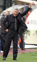 """Siena 15/9/2007 Stadio """"Artemio Franchi-Montepaschi Siena"""" <br /> Campionato Italiano Serie A <br /> Matchday 3 - Siena-Milan (1-1)<br /> L'Allenatore del Milan Carlo Ancelotti<br /> Milan Trainer Carlo Ancelotti<br /> Foto Luca Pagliaricci Insidefoto"""