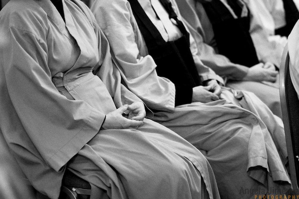 The Zen Buddhist wedding of Tamara & Prabu at the Fire Lotus Temple in Boerum Hill, Brooklyn.