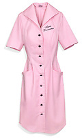 Candy Pink Agent Provocateur Saleswoman Smock