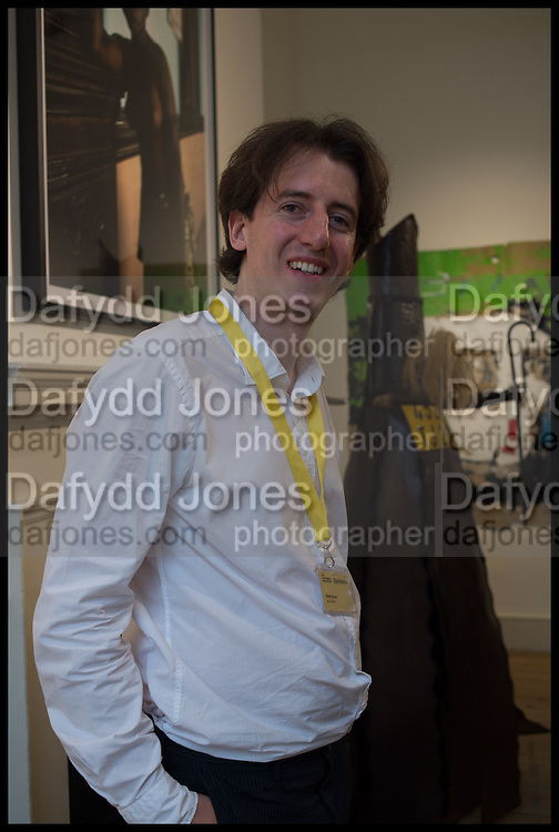 1:54 Contemporary African art Fair, Somerset House. London. 15 October 2014oliver durey of the jack bell gallery, 1:54 Contemporary African art Fair, Somerset House. London. 15 October 2014