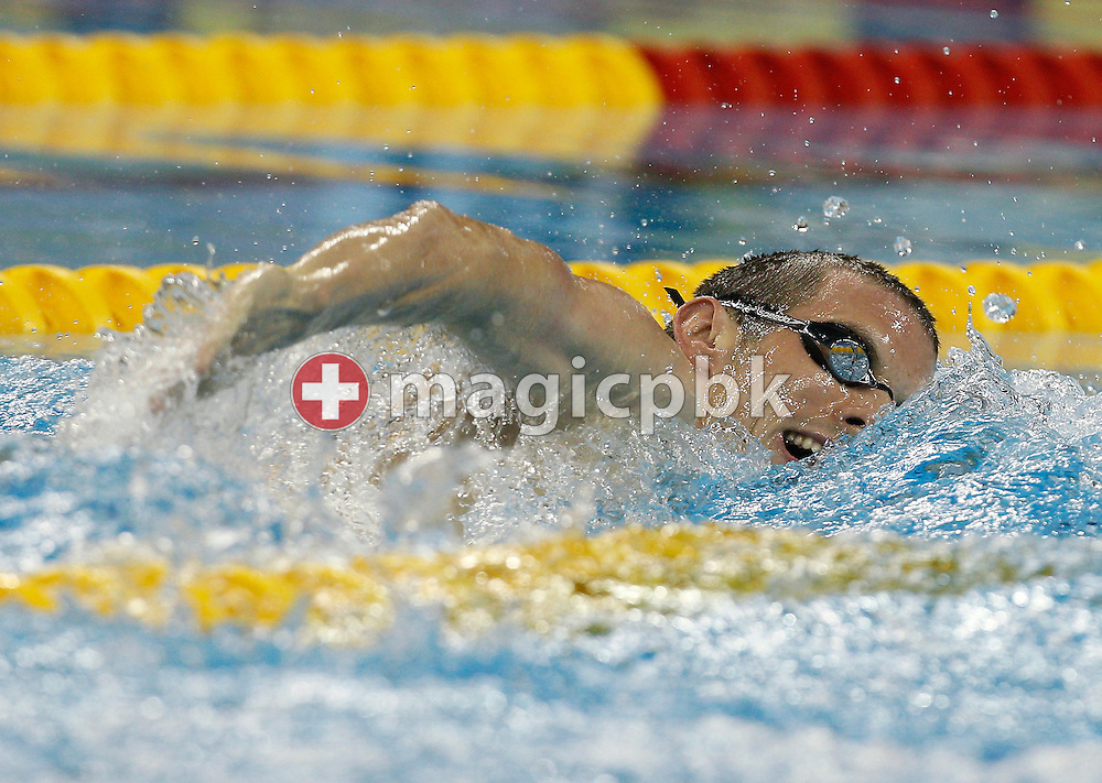 Ryan COCHRANE of Canada competes in the men's 800m Freestyle Heats during the 14th FINA World Aquatics Championships at the Oriental Sports Center in Shanghai, China, Tuesday, July 26, 2011. (Photo by Patrick B. Kraemer / MAGICPBK)