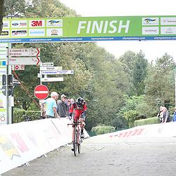 29-09-2016: Wielrennen: Olympia Tour: Elten <br /> ELTEN (DLD) wielrennen <br /> Een individuele tijdrit met start in Kasteel  's Heerenberg en finish op de Elterberg. Pascal Eenkhoorn op Elterberg