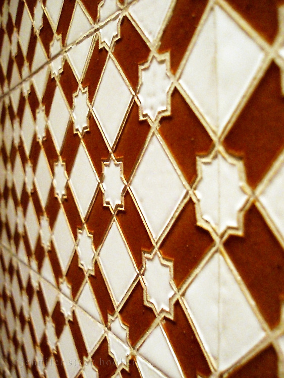 Wall tiles, Granada, Spain