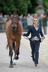 Merel Blom (NED) - Rumour Has It <br /> First Inspection - CCI4* <br /> Mitsubishi Motors Badminton Horse Trials <br /> Badminton 2014<br /> © Hippo Foto - Jon Stroud