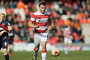 Doncaster Rovers defender Andrew Butler (6)  during the Sky Bet League 1 match between Doncaster Rovers and Blackpool at the Keepmoat Stadium, Doncaster, England on 28 March 2016. Photo by Simon Davies.