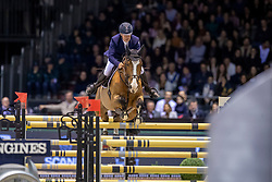 Bost Roger Yves, FRA, Sangria du Coty<br /> Jumping International de Bordeaux 2020<br /> © Hippo Foto - Dirk Caremans<br />  08/02/2020