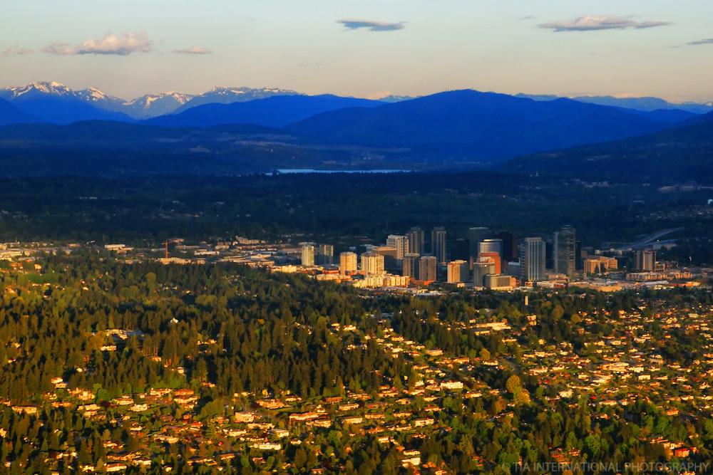 Bellevue & Cascade Mountains