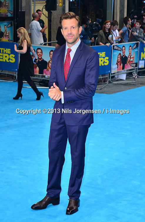 Jason Sudeikis arrives for the We're The Millers - European Film Premiere. Odeon, London, United Kingdom. Wednesday, 14th August 2013. Picture by Nils Jorgensen / i-Images