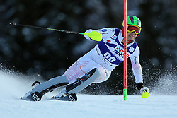 06.01.2014, Stelvio, Bormio, ITA, FIS Weltcup Ski Alpin, Bormio, Slalom, Herren, im Bild Akira Sasaki // Akira Sasaki  in action during mens Slalom of the Bormio FIS Ski World Cup at the Stelvio in Bormio, Italy on 2014/01/06. EXPA Pictures © 2014, PhotoCredit: EXPA/ Sammy Minkoff<br /> <br /> *****ATTENTION - OUT of GER*****