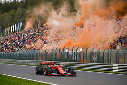 September 1, 2019, Spa-Francorchamps, Belgium: Motorsports: FIA Formula One World Championship 2019, Grand Prix of Belgium, ..#5 Sebastian Vettel (GER, Scuderia Ferrari Mission Winnow) (Credit Image: © Hoch Zwei via ZUMA Wire)