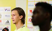 SWIDNIK, POLEN 2017-06-12<br /> Kristoffer Olsson under U21 landslagets tr&auml;ning p&aring; Stadion Miejski den 12 juni 2017.<br /> Foto: Nils Petter Nilsson/Ombrello<br /> Fri anv&auml;ndning f&ouml;r kunder som k&ouml;pt U21-paketet.<br /> Annars Betalbild.<br /> ***BETALBILD***