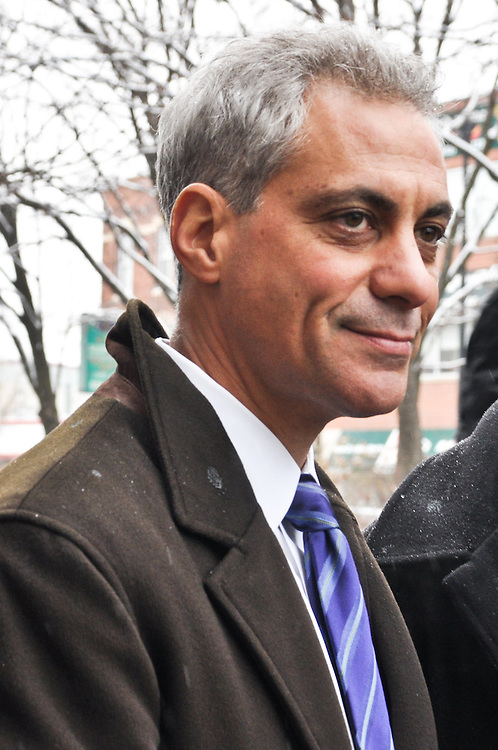 Mayoral candidate Rahm Emanuel, Chinatown, February 6th, 2011