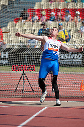 HABSCHEID Tom, LUX, Discus, F42, 2013 IPC Athletics World Championships, Lyon, France