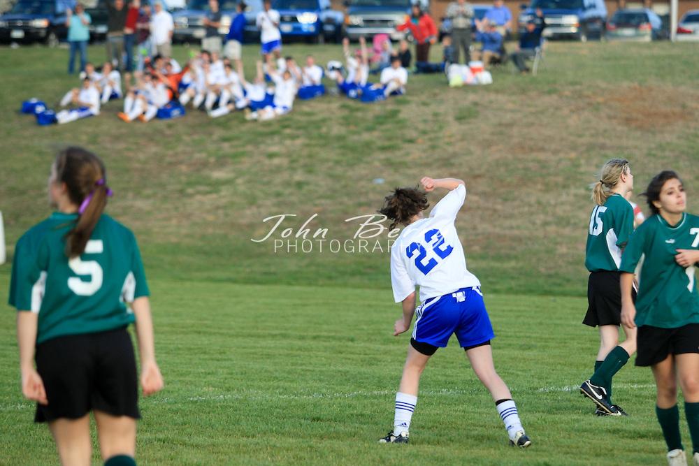 MCHS Varsity Girl's Soccer.vs Wilson Memorial.4/1/2008..