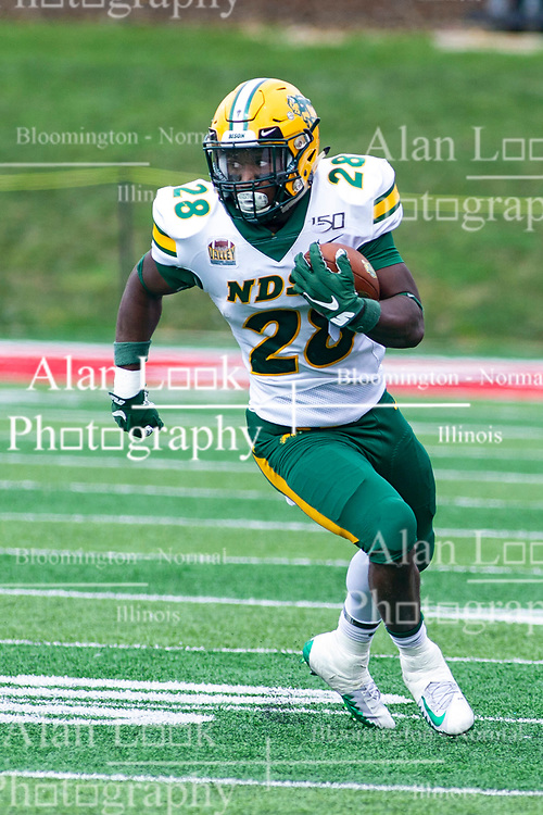 NORMAL, IL - October 05: Ty Brooks during a college football game between the ISU (Illinois State University) Redbirds and the North Dakota State Bison on October 05 2019 at Hancock Stadium in Normal, IL. (Photo by Alan Look)