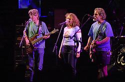 Phil Lesh, Joan Osborne & Bob Weir. The Dead in concert at Saratoga Performing Arts Center 20 June 2003