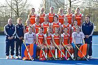 UTRECHT - Teamfoto Nederlands Meisjes B. Foto Koen Suyk