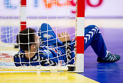 Darko Stanic of Serbia during final handball match between Serbia and Denmark at 10th EHF European Handball Championship Serbia 2012, on January 29, 2012 in Beogradska Arena, Belgrade, Serbia. Denmark defeated Serbia 21-19 and became European Champion 2012. (Photo By Vid Ponikvar / Sportida.com)