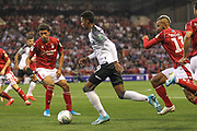 Morgan Whittaker (49) of Derby County during the EFL Cup match between Nottingham Forest and Derby County at the City Ground, Nottingham, England on 27 August 2019.