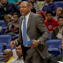 Dec 3, 2018; New Orleans, LA, USA; LA Clippers head coach Doc Rivers against the New Orleans Pelicans during the first quarter at the Smoothie King Center. Mandatory Credit: Derick E. Hingle-USA TODAY Sports