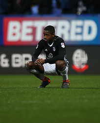 Ryan Sessegnon of Fulham looks dejected at the final whistle - Mandatory by-line: Jack Phillips/JMP - 10/02/2018 - FOOTBALL - Macron Stadium - Bolton, England - Bolton Wanderers v Fulham - English Football League Championship