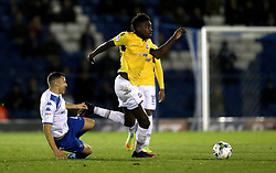 Sammy Ameobi of Bolton Wanderers runs with the ball - Mandatory by-line: Robbie Stephenson/JMP - 24/10/2016 - FOOTBALL - Gigg Lane - Bury, England - Bury v Bolton Wanderers - Sky Bet League One