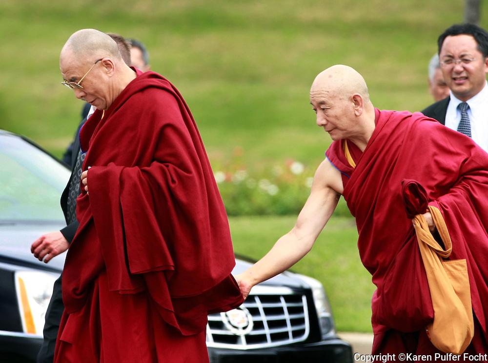 Dalai Lama makes a visit to Memphis Tennessee