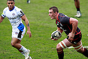 Louis Picamoles attacks. Stade Toulousain v Bath, European Champions Cup 2015, Stade Ernest Wallon, Toulouse, France, 18th Jan 2015.