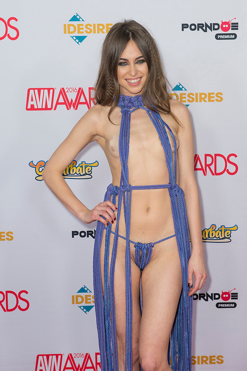 LAS VEGAS - JAN 23 : Adult film actress Riley Reid attends the 2016 Adult Video News Awards at the Hard Rock Hotel & Casino on January 23, 2016 in Las Vegas, Nevada.