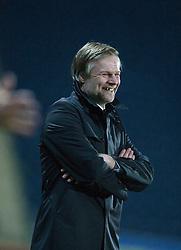 Steven Pressley, Falkirk manager..Falkirk 2 v 0 Livingston, 19/2/2013..©Michael Schofield.