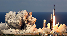SpaceX Falcon Heavy Launches Arabsat - Cape Canaveral - 11 April 2019