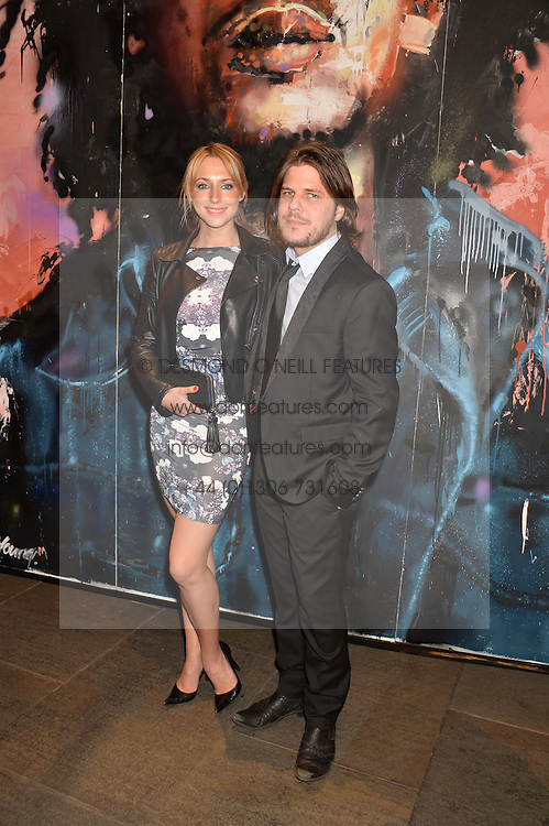 Actress ALI BASTIAN and TOM CLAY at A Night of Reggae in aid of Save The Children held at The Roundhouse, Chalk Farm Road, London NW1 on 12th March 2014.
