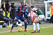 Dominic Poleon (11) of Bradford City during the EFL Sky Bet League 1 match between Plymouth Argyle and Bradford City at Home Park, Plymouth, England on 24 February 2018. Picture by Graham Hunt.