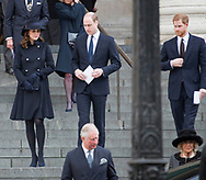 14.12.2017; London, UK: PRINCES CHARLES, WILLIAM, HARRY, CAMILLA, KATE MIDDLETON<br />