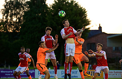 LEYLAND, ENGLAND - Friday, September 1, 2017: Liverpool's Paulo Alves during the Lancashire Senior Cup Final match between Fleetwood Town and Liverpool Under-23's at the County Ground. (Pic by Propaganda)