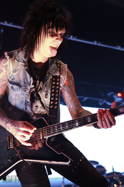 Black Veil Brides perform live on their Resurrection Tour at Manchester Academy, Manchester, United Kingdom, 2018-01-24