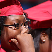 Christiana High School graduates participate in Christiana annual commencement exercises Monday, June 01, 2015, at The Bob Carpenter Sports Convocation Center in Newark, Delaware.