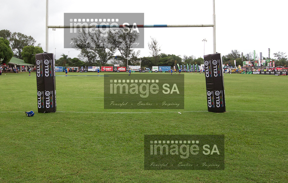DURBAN, SOUTH AFRICA - FEBRUARY 16 2013,  Barnding during match 1 of the Cell C Community Cup rugby match between Jonsson College Rovers and GAP Despatch held at Kings Park 3 in Durban..Photo by Rogan Ward, ImageSA