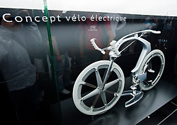 Concept for electric bicycle by Peugeot at Paris Motor Show 2010