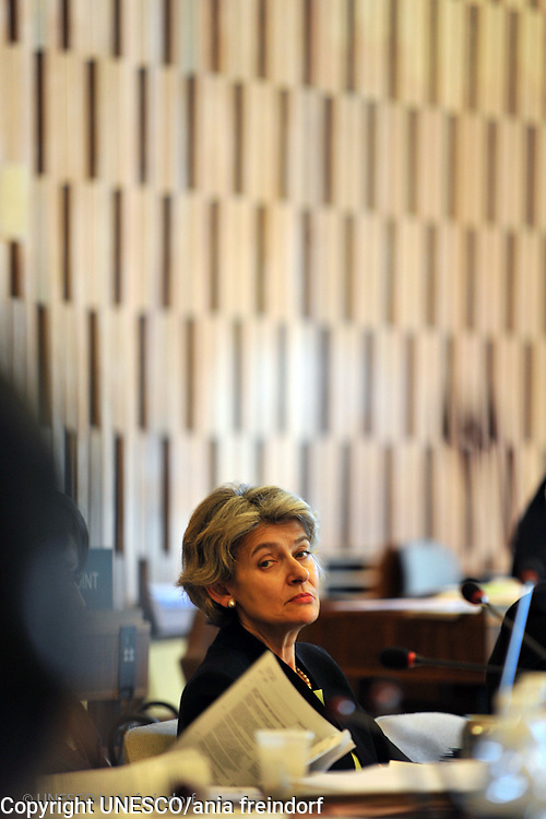UNESCO Headquarters, Director General, Irina Bokova.