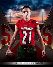Snohomish Football Senior Posters