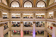 Marshall Field building housing a Macy's Department Store