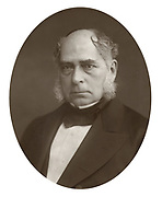Henry Bessemer (1813-1893) English engineer and inventor was born at Charlton, near Hitchen, Hertfordshire. Took out many patents but best remembered for his invention of the Bessemer process, patented 1855, for more cheaply producing steel from pig iron in a Bessmer converter. Established a steelworks at Sheffield, 1859. Knighted in 1859 and elected a Fellow of the Royal Society the same year.  From 'Men of Mark' by Thompson Cooper. (London, 1881).