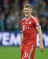 FUSSBALL  CHAMPIONS LEAGUE  SAISON 2012/2013  FINALE  Borussia Dortmund - FC Bayern Muenchen         25.05.2013 Champions League Sieger 2013 FC Bayern Muenchen: Bastian Schweinsteiger (FC Bayern Muenchen)