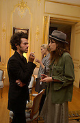 Romain Duris and Lou Doillon daughter of Jane Birkin, Renault French Film tour launches with a lunch given by the French Ambassador, Kensington Palace Gdns, 5 March 2003. © Copyright Photograph by Dafydd Jones 66 Stockwell Park Rd. London SW9 0DA Tel 020 7733 0108 www.dafjones.com