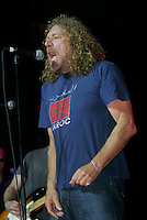 Robert Plant performing during the Arthur Lee benefit concert at The Beacon Theater on June 23, 2006. .