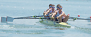 Varese. ITALY. GBR M4-. Bow Alan SINCLAIR, Nathaniel REILLY-O'DONNELL, Tom RANSLEY and Scott DURANT.  2015 FISA World Cup II Venue Lake Varese. Friday  19/06/2015 [Mandatory Credit: Peter Spurrier/Intersport-images.com] .   Empacher.