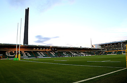A general view of Franklins Gardens, home of Northampton Saints ahead of the Aviva Premiership Match with Exeter Chiefs - Mandatory by-line: Robbie Stephenson/JMP - 30/09/2016 - RUGBY - Franklin's Gardens - Northampton, England - Northampton Saints v Exeter Chiefs - Aviva Premiership