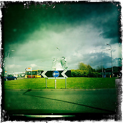 Falkirk..Hipstamatic images taken on an Apple iPhone..©Michael Schofield.