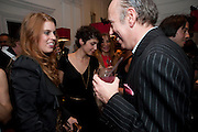 PRINCESS BEATRICE; MICK JONES  Georgina Chapman and Stephen Webster celebrate her guest designer collection for Garrard. Albermarle St. London. 4 November 2009